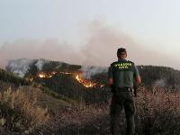 Požiar na ostrove Gran Canaria
