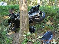 Dopravná nehoda pri Veľkom Klíži si vyžiadala život motorkára