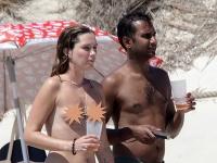 Aziz Ansari s priateľkou
