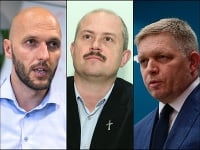 Michal Truban, Marian Kotleba, Robert Fico