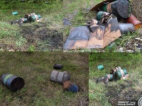 Policajti v prípade nájdených sudov s nebezpečným odpadom obvinili dvoch mužov