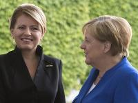 Zuzana Čaputová a Angela Merkelová