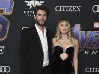 Liam Hemsworth a Miley Cyrus