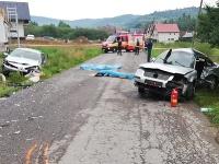 Pri čelnej zrážke dvoch vozidiel v obci Zábiedovo v okrese Tvrdošín vyhasli 4 životy mladých ľudí.