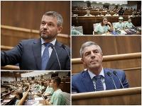 Peter Pellegrini, ale aj Béla Bugár odpovedali deťom počas hodiny otázok v parlamente