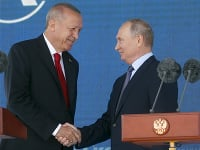 Putin spoločne s Erdoganom