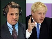Hugh Grant, Boris Johnson