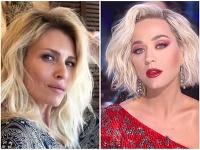 Daniela Peštová a Katy Perry