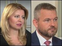 Zuzana Čaputová, Peter Pellegini, Andrej Danko.