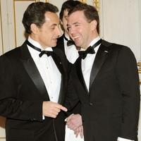 Nicolas Sarkozy a Dmitrij Medvedev