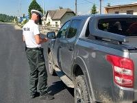 Vodič dostal za jazdu rýchlosťou 125 km/h v obci pokutu 500 eur