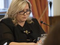 Predsedníčka Súdnej rady SR Lenka Praženková