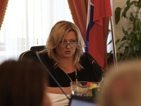 Predsedkyňa Súdnej rady SR Lenka Praženková