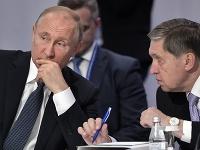 Vladimir Putin a Jurij Ušakov