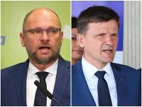 Richard Sulík a Alojz Hlina