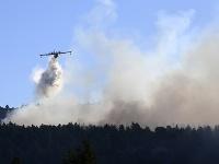 V Grécku vyčíňajú lesné požiare