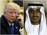 Donald Trump a Hamza bin Ládin