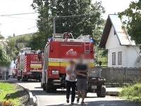 Do obce prišli hasiči zo širšieho okolia.
