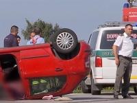 Tragická dopravná nehoda pri Komárne.