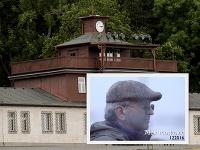 Alex Moskovic a vstupná brána do Buchenwaldu