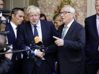 Jean-Claude Juncker a Boris Johnson