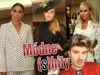 Na outfity známych Slovákov si posvietil módny návrhár Milan Švingál.