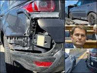 Igor Matovič zverejnil fotky z nehody