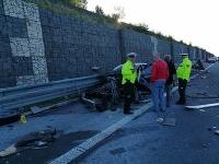 Tragická nehoda na diaľnici D1