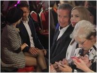 Moderátorka Lucia Forman Habancová a bývalý generálny riaditeľ RTVS Václav Mika si s partnermi prejavovali lásku.