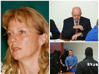 Na pojednávanie sa dostavila aj Sylvia Volzová.