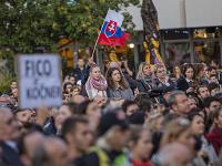 Zhromaždenie organizované iniciatívou Za slušné Slovensko