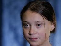 Švédska aktivistka za ochranu klímy, tínedžerka Greta Thunbergová