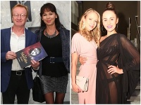 Moderátorka Petra Bernasovská predviedla bezchybné nohy v krátkej sukni, herečka Lenka Machciníková úplne všetko v priesvitných šatách.