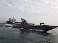 Ropný tanker zadržali iránske revolučné gardy vo vodách Hormuzského prielivu