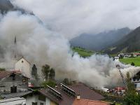Explózia supermarketu v rakúskom Tirolsku