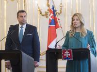 Andrej Danko a Zuzana Čaputová