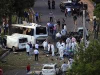 V blízkosti autobusu zásahovej jednotky polície explodovalo nastražené výbušné zariadenie.