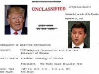 Biely dom zverejnil prepis rozhovoru Trumpa a Zelenského