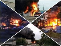 Požiar v Trnave dal hasičom zabrať, prišla aj ministerka vnútra.