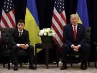 Volodymyr Zelenskyj a Donald Trump