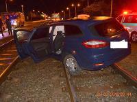 Vodič sa na rovnom úseku pravdepodobne plne nevenoval vedeniu vozidla