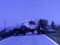 Dopravná nehoda v za obcou Šenkvice v smere do Pezinka.