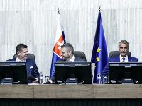 László Sólymos, Peter Pellegrini a Richard Raši