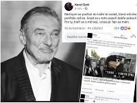 Nepravdivá informácia, že Karel Gott zomrel, sa šírila už niekoľkokrát.