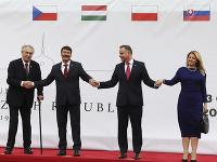 Slovenská prezidentka Zuzana Čaputová na dvojdňovom summite prezidentov krajín Vyšehradskej štvorky.