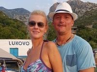 Bývalá štátna tajomníčka Monika Jankovská s vtedajším manželom Tiborom v Chorvátsku.