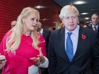 Jennifer Arcuriová a Boris Johnson