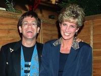 Elton John a Lady Diana