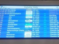 Čakanie na letisku v Antalyi.