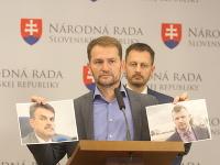 Igor Matovič na tlačovej konferencii